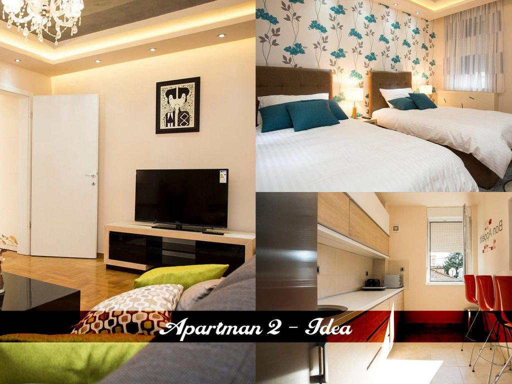 Apartman 2 - Idea
